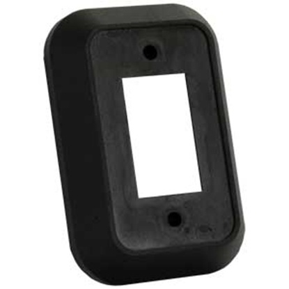 Picture of JR Products  Black Single Opening Switch Plate Cover 13495 19-2793