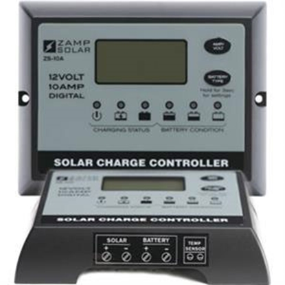 Picture of Zamp Solar  10 Amp Waterproof Solar Controller ZS-10AW 19-2828