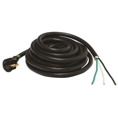 Picture of Mighty Cord  25' 30A Extension Cord w/Finger Grip Handle A10-3025ENDBK 19-2958