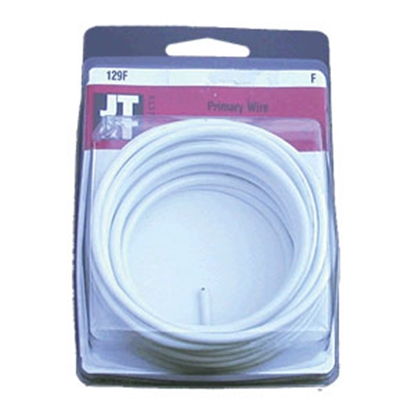 Picture of Best Connection  Primary Wire, 14 Gauge x 15 ft., White, Carded 0149F 19-3021