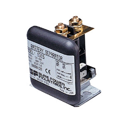 "Picture of Bussman SurePowerâ""¢ 100A Bi-directional Battery Isolator Solenoid RB-BS-1315 19-3128"