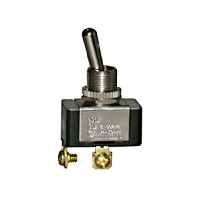 Picture of Pollak  12V/ 20A SPST Toggle Switch 34-571V 19-3274