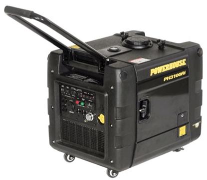 Picture of Powerhouse  3100W Gasoline Recoil Start Inverter Generator 69273 19-3391