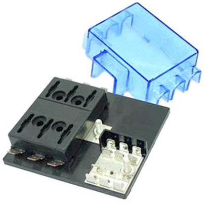 Picture of Battery Doctor  6-Way ATO/ATC Blade Fuse Block 31060-7 19-3544