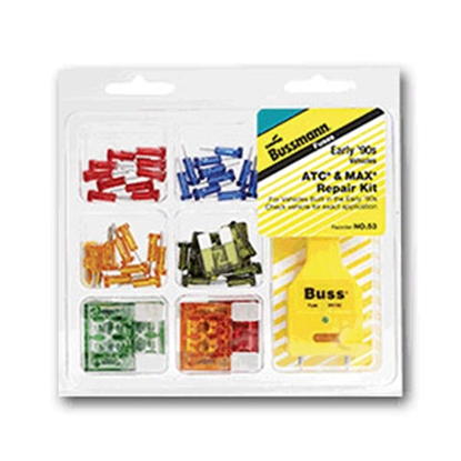 Picture of Bussman  45-Piece ATC/Maxi Blade Fuse Assortment In Clamshell Pack NO.53 19-3803