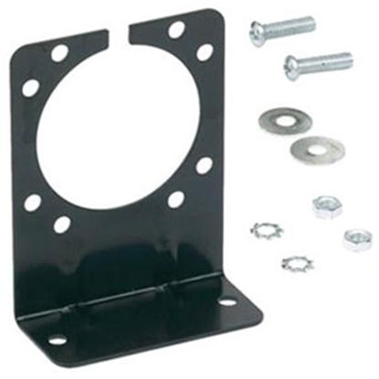 Picture of Husky Towing  Black 7/9-Way Trailer Connector Bracket (Carded) 32581 19-3867