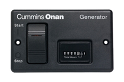Picture of Cummins Onan  Remote w/ Hourmeter 300-4937 19-4017