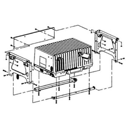 Picture of Cummins Onan  Under Floor Generator Mounting Kit A030X652 19-4075