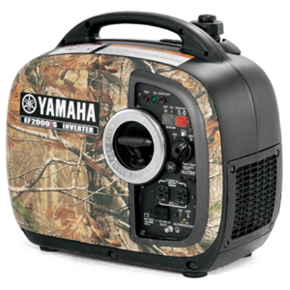 Picture of Yamaha  2000W Gasoline Recoil Start Inverter Generator EF2000ISCH 19-4506
