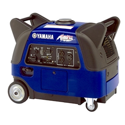 Picture of Yamaha  3000W Gasoline Recoil/Electric Start Inverter Generator EF3000ISEB 19-4517