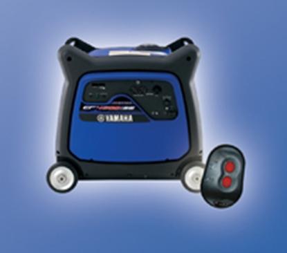 Picture of Yamaha  4500W Gasoline Electric Start Inverter Generator EF4500ISE 19-4526