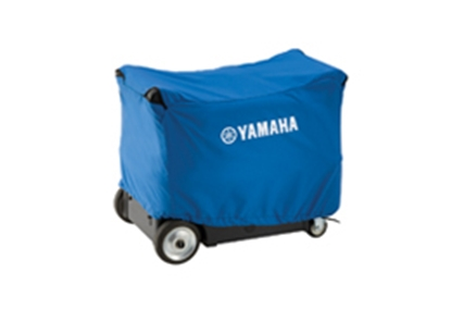 Picture of Yamaha  Blue Generator Cover w/Logo For Yamaha E6300iSE ACCGNCVR4501 19-4529