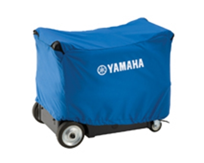 Picture of Yamaha  Blue Generator Cover w/Logo For Yamaha E3000iSE/EF3000iSEB ACCGNCVR3001 19-4533