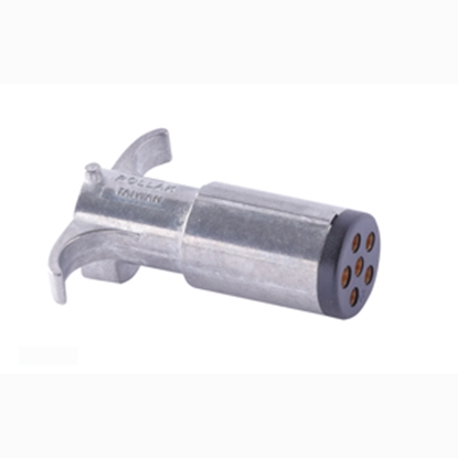 Picture of Pollak  6 Way Plug Trailer Connector Adapter P604 19-4554