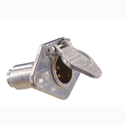 Picture of Pollak  6 Way Socket Trailer Connector Adapter P609 19-4555