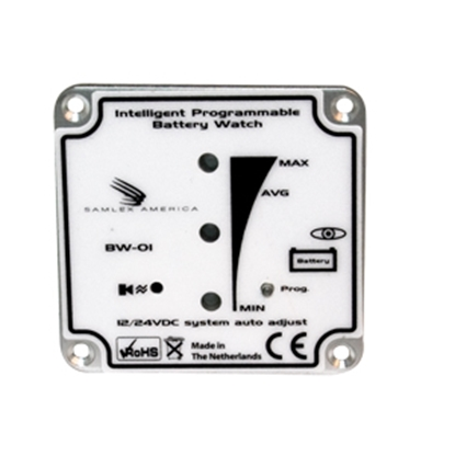 Picture of Samlex Solar  Battery Monitor w/LED Indicators BW-01 19-4743