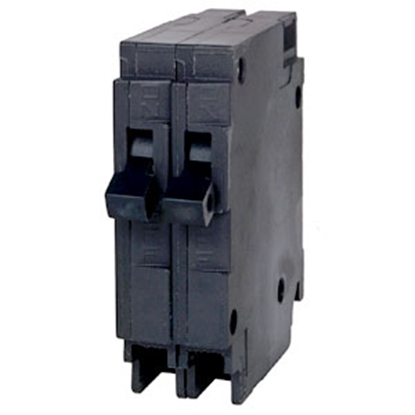 Picture of Wesco  20/20A Double Pole Manual Reset Circuit Breaker 78364314826 19-6028