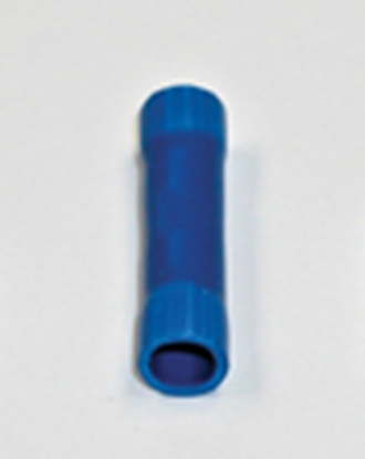 Picture of Camco  25/pk Blue 16-14 Ga Vinyl Butt Connector 63487 19-7738
