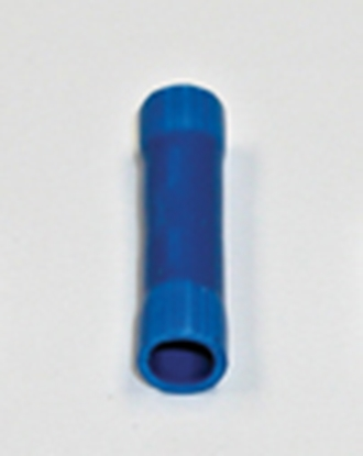 Picture of Camco  25/pk Blue 16-14 Ga Nylon Butt Connector 63492 19-7741