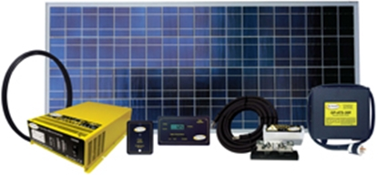 Picture of GoPower!  160W 9.14A Solar Kit WEEKENDER SW-160 19-8100
