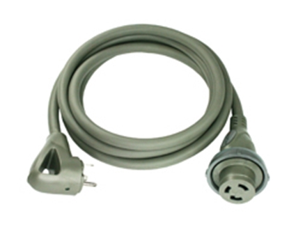 Picture of Furrion Faultsmart Titanium Color 30' 30A Locking Power Cord 381584 19-8161