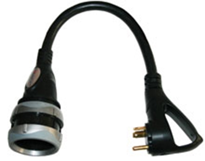 Picture of Furrion  30F/30M Pigtail Locking Power Cord Adapter 381642 19-8166