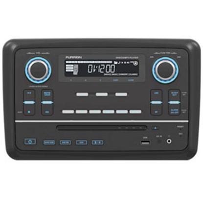 Picture of Furrion  Black AM/FM/DVD/CD/MP3/MP4/AVI/WMA LCD Illumination Radio w/Bluetooth & USB 381515 19-9048
