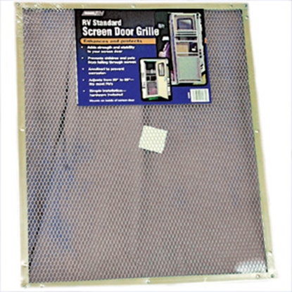 Picture of Camco  Aluminum Standard Screen Door Grille 43980 20-0092