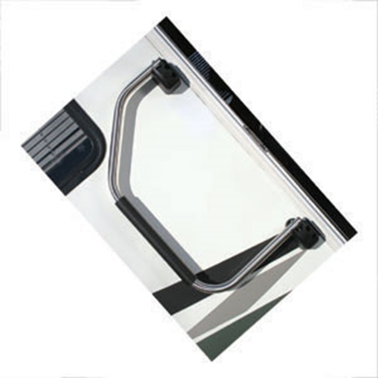 Picture of Stromberg Carlson Lend-a-Hand 27-1/4 Aluminum Entry Step Hand Rail AM-300 20-0394