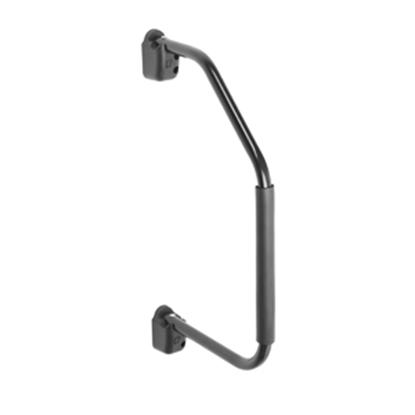 Picture of Stromberg Carlson Lend-a-Hand 27-1/4 Black Aluminum Entry Step Hand Rail AM-800 20-0623