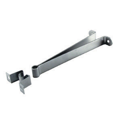 "Picture of JR Products  Metal 3"" C-Clip Style Entry Door Holder 10535 20-0637"