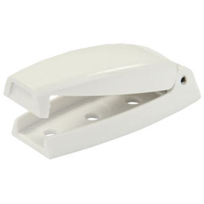 Picture of JR Products  2-Pack White Baggage Door Holder 10234 20-0652