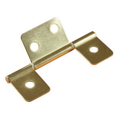 "Picture of RV Designer  2-Pack Brass 3-1/2"" Non-Mortice Hinge H511 20-0723"