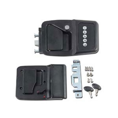 Picture of AP Products  Black Bauer Motorhome Keyless Entry System 013-531 20-0724