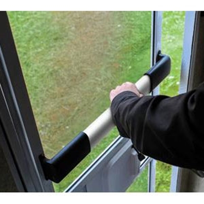 Picture of Camco  Black Wide Screen Door Push Bar 42188 20-0736