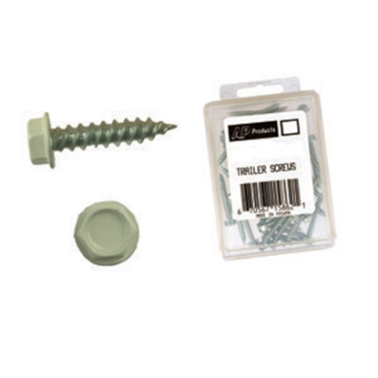 """Picture of AP Products  50-Pack 8 x 1-1/2"""" MH/RV Hex Washer Head Screw 012-TR50 8 X 1-1/2 20-0804"""