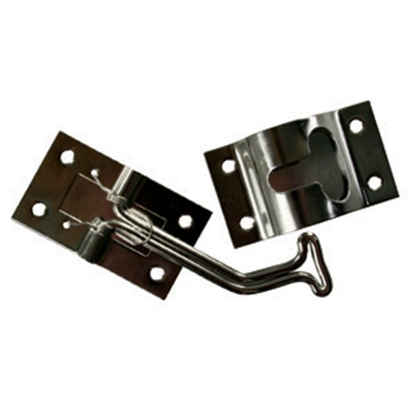 Picture of JR Products  Stainless Steel 45 deg Entry Door Holder 11765 20-0892