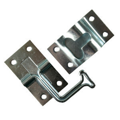 Picture of JR Products  Zinc Finish Metal 90 deg Entry Door Holder 11775 20-0893