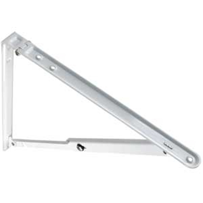 Picture of JR Products  White Folding Shelf Bracket 20725 20-1145
