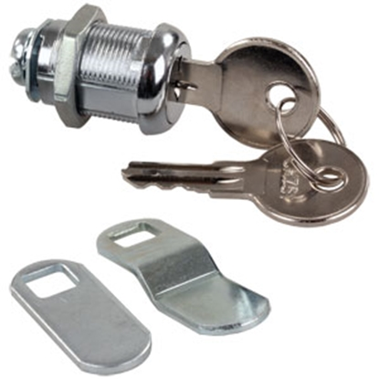 "Picture of JR Products  7/8"" Standard Key Baggage Door Lock 00315 20-1216"