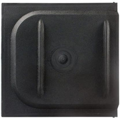 """Picture of JR Products  Black 12"""" Screen Door Slide 11175 20-1334"""