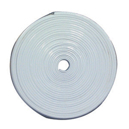 "Picture of AP Products  Polar White 7/8""x25' Flexible Plastic Insert Trim 011-349 20-1370"