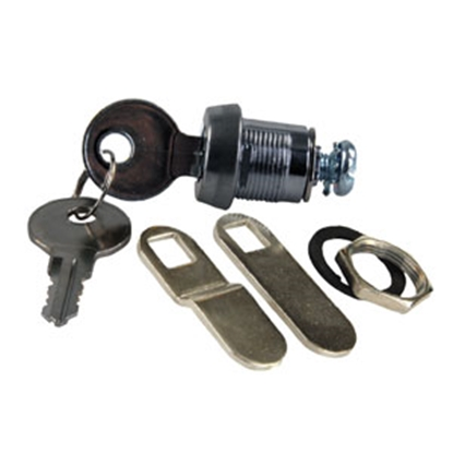 "Picture of JR Products  7/8"" Standard Key Baggage Door Lock 00165 20-1652"