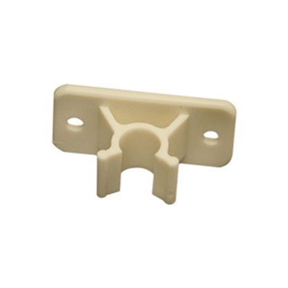 Picture of RV Designer  Colonial White Plastic Socket Only C-Clip Style Entry Door Holder E244 20-1809