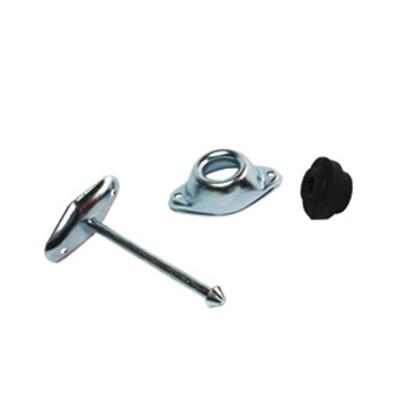 "Picture of RV Designer  Metal 4-3/4"" Straight Plunger Entry Door Holder Set E253 20-1811"