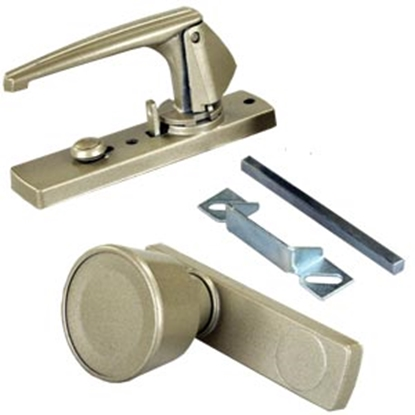 Picture of JR Products  Metal Knob Style Door Latch Assembly 20495 20-1859