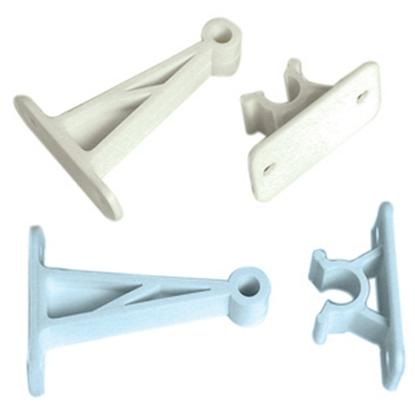 "Picture of RV Designer  Polar White Plastic 5-1/2"" C-Clip Style Entry Door E247 20-1877"