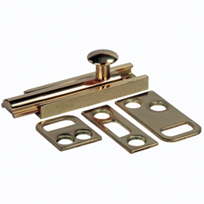 Picture of JR Products  Brass Entry Door Latch 20635 20-1887