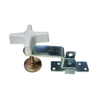 Picture of JR Products  White Fold-Out Bunk Clamp 20775 20-1955