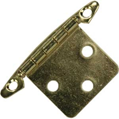 Picture of JR Products  2-Pack Brass Free Swing Flush Mount Hinge 70615 20-1964